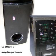 LG SHS36-D Subwoofer