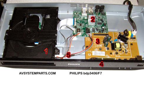 PHILIPS bdp3406/F7