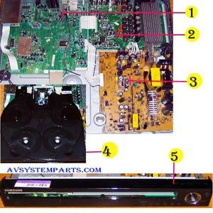 Samsung HT-TZ512 parts