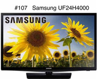 Smart TV Samsung LED HDTV-UN24H4000AF 24 in. 720p, WiFi