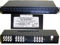 GVI GV-816vda CCTV Video Distribution Amplifier Amp 8-in 16-out,Security system