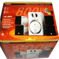 LexPro LS880 3D Sound 3-Piece Subwoofer Speaker System 800w