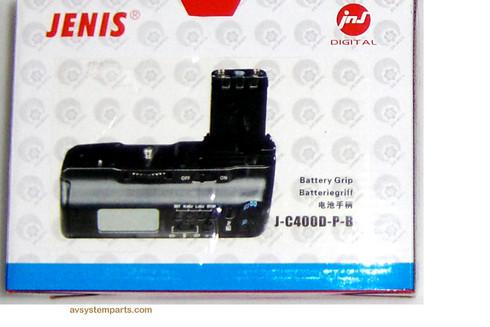 Canon Jenis J-C400D-P-B Battery Grip