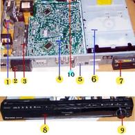 Panasonic SA-PT960 Parts