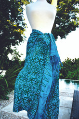 Blue Mix Sarongs