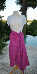 Fushia Mix Sarongs