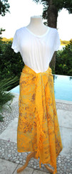 Yellow Mix Sarongs