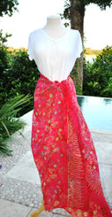 Red Mix Sarongs