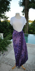 Purple Mix Sarongs