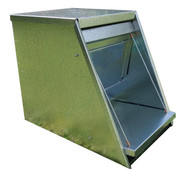 Galvanised Chicken feeder