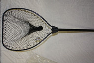 Black Fishing Landing NET Aluminium Handle Fish Prawn