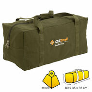 Oztrail Large Canvas Duffle BAG BPC Dufl D