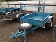 Single Axle 6 x 4 Trailer with Fridge Rail