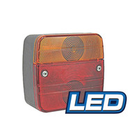 LED LAMP STOP/TAIL/FLASHER SQUARE