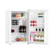 116L BAR FRIDGE WHITE - WIRE SHELVES