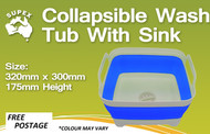 Wash Tub with Sink