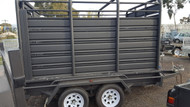 10 X 6 Stock Crate Trailer On special