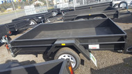 "8 X 5 Trailer 750kg GVM, 12"" Sides, Smooth Floor, Fixed Front, Jockey Wheel, Spare Wheel"