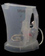 Tiffany Transparent Cordless Kettle 1L