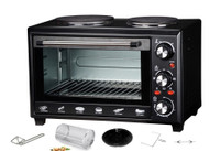 MAXIM 28L Oven with Hot Plates & Rotisserie