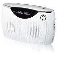 PYE Portable AC/DC Radio (White)