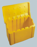 Salt and Sand Storage Available in Yellow or Grey