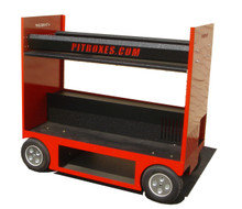 Tire Rack Cart Pitbox