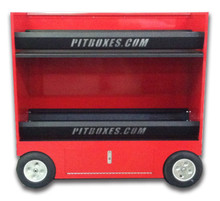 Double Tire Rack Cart Pitbox