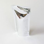 Metallized 4oz Compostable Stand Up Pouch [100 Bags]