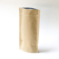 Kraft 4oz Compostable Stand Up Pouch [100 Bags]