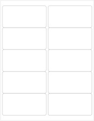 Shipping Labels, Blank [PACK OF 25 SHEETS]