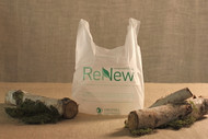 1/6 Size Compostable Plastic T-Shirt Bag [1000/Case]