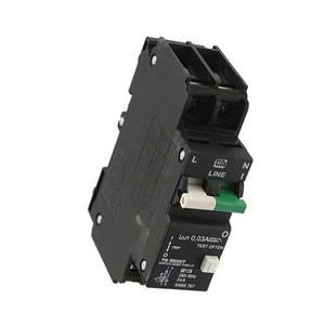 """Circuit Breaker, GFI 22ma, UL 1053, 20A, UL 1077"" (AE-C20A2P-GFI)"