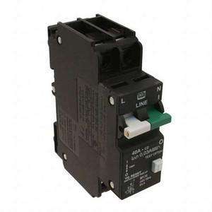 """Circuit Breaker, GFI 22ma, UL 1053, 40A, UL 1077"" (AE-C40A2P-GFI)"