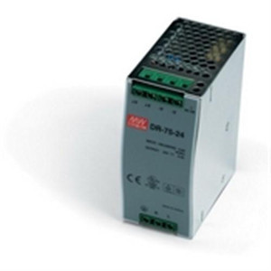 """Power Supply, 75 Watts, 3.125 Amps, 24 VDC output, 85-264 VAC input, DIN Rail mounted"" (AE-DR-75-24)"