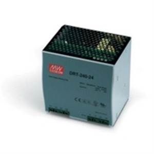 """Power Supply, 240 Watts, 10 Amps, 24 VDC output, 85-264 VAC input, DIN Rail mounted"" (AE-DRP-240-24)"