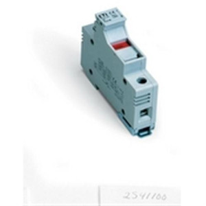 """ASK 4 Fuse Holder, 1 Pole, w/ indication, 10 x 38mm (1.5' x 13/32"")  600V, 32A, 20-6 AWG"" (AE-E2541100)"