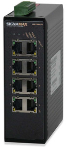 8-Port 10/100T/TX DIN-mt (sign_065-7408ATB)