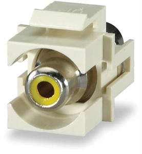 RCA Yellow Feed-Thru Module (sign_CMK-RCAY)