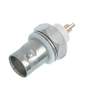 Adapter; Chassis Mount BNC(F) to Solder Lug; with Nut and Washer; 50 Ohm (questt_CBN-4030)