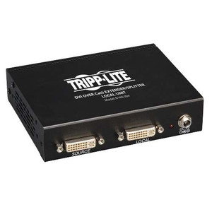 """4-Port DVI over Cat5/Cat6 Extender Splitter, Video Transmitter, 1920x1080 at 60Hz"" (tripp_B140-004)"