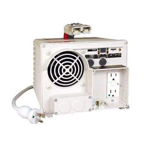 1250W 12VDC PowerVerter Ambulance/EMS Inverter/Charger with 2 Hospital Grade Outlets (tripp_EMS1250UL)