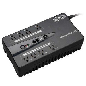 """TAA-Compliant Internet Office 120V 600VA 300W Standby UPS, Ultra-Compact Desktop, USB port"" (tripp_INTERNET600TAA)"