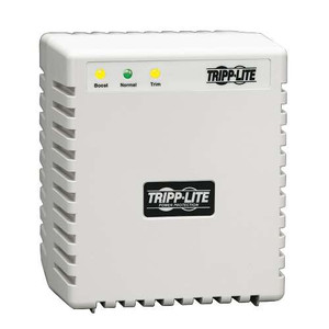 """600W 230V AVR Line Conditioner, Power Conditioner, AC Surge Protector, 3 Outlets"" (tripp_LR604)"