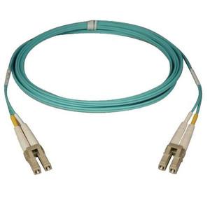 Multimode Fiber Optics 2-meter (6-ft.) 10Gb Aqua Duplex MMF 50/125 LSZH Patch Cable; LC/LC