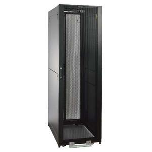"""42U SmartRack Value Series Standard-Depth Rack Enclosure Cabinet, 2400-lb. Capacity with doors & side panels"" (tripp_SR2400)"