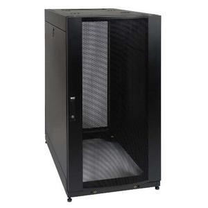 25U SmartRack Standard-Depth Server Rack Enclosure Cabinet with doors & side panels (tripp_SR25UB)