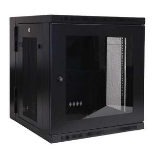 """""""SmartRack 12U Hinged Wall-Mount Standard-Depth Rack Enclosure Cabinet, Plexiglass Front Door Insert"""" (tripp_SRW12USG)"""