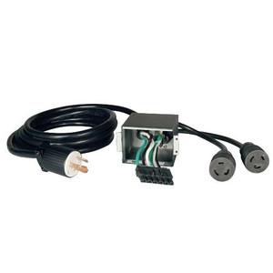 """Corded UPS Backplate Outlet Kit for SU6000RT3UHV UPS, 200/208/240V Input/Output, NEMA L6-30R"" (tripp_SUPDM11)"