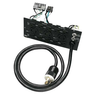 """""""208V Corded UPS Backplate Outlet Kit for SU6000RT3U, L6-30R, L6-20R, 5-15/20R"""" (tripp_SUPDM12)"""